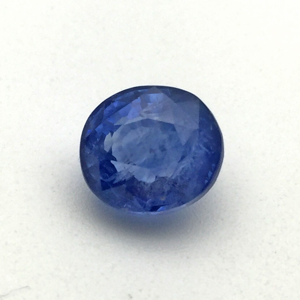 8 55 Carat Natural Blue Sapphire Neelam Gemstone