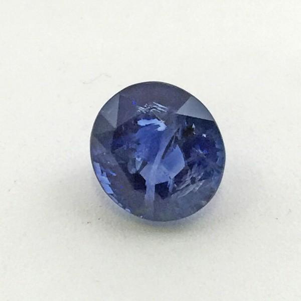 4 56 Carat Natural Transparent Blue Sapphire Neelam Gemstone