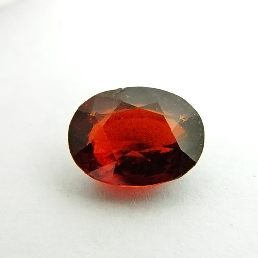 6.38 Carat  Natural Hessonite (Gomed) Gemstone