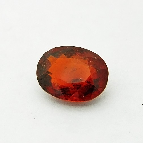 5.23 Carat  Natural Hessonite Garnet (Gomed) Gemstone