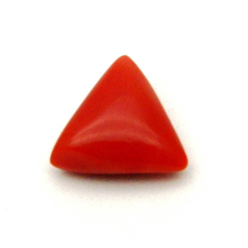 5.77 Carat/ 6.40 Ratti Natural Italian Coral (Moonga) Gemstone