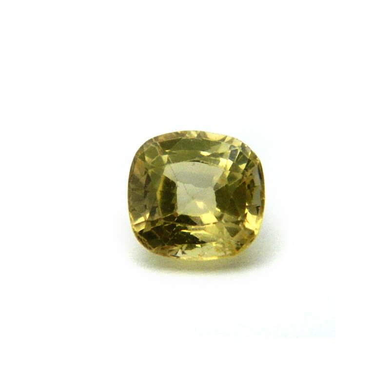 1.57 Carat/ 1.74 Ratti Natural Ceylon Yellow Sapphire Gemstone