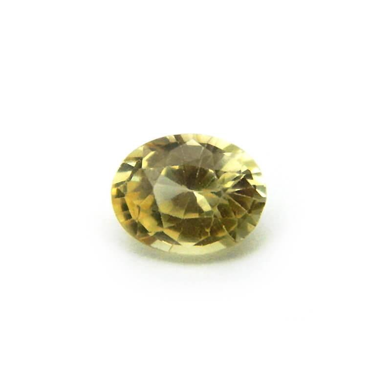 1.62 Carat/ 1.80 Ratti Natural Ceylon Yellow Sapphire Gemstone