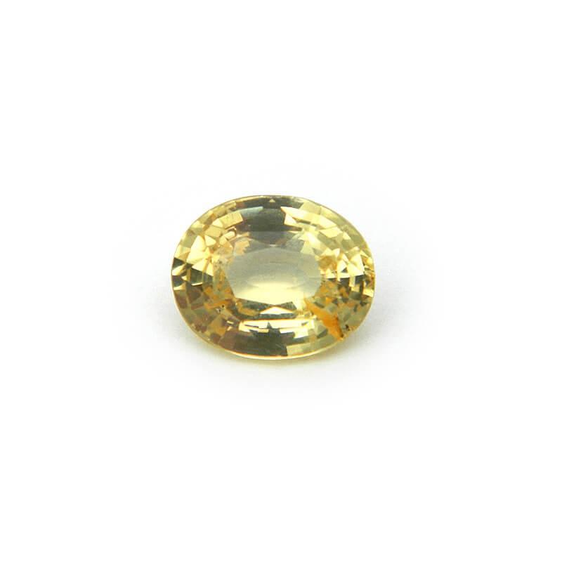 1.93 Carat/ 2.14 Ratti Natural Ceylon Yellow Sapphire Gemstone