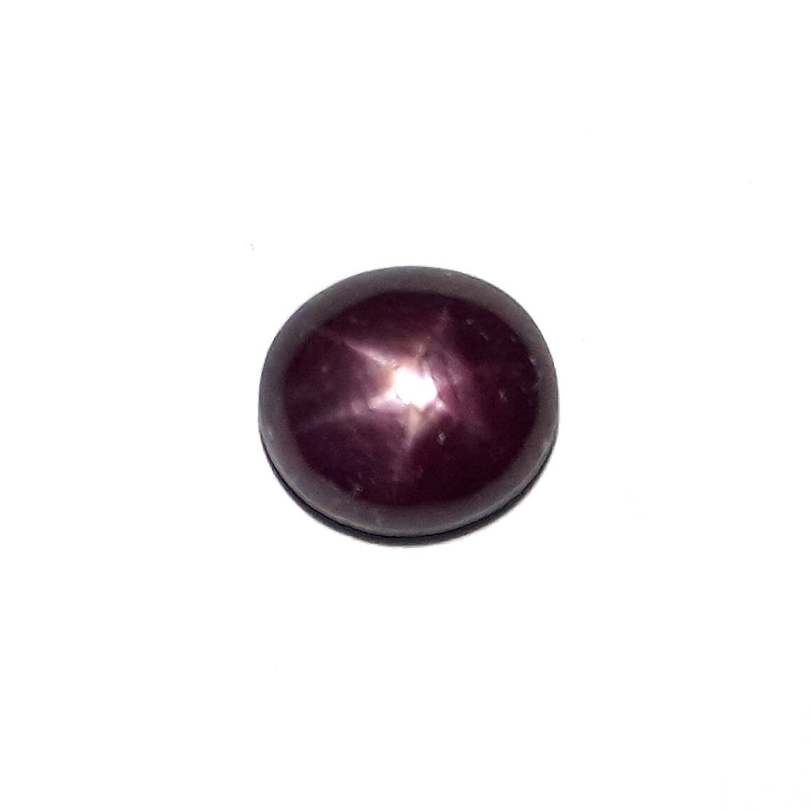 10.21 Carat/ 11.34 Ratti Natural African Star Ruby (Manik) Gemstone