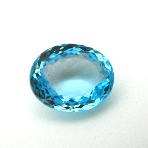 10.93 Carat/ 12.14 Ratti Natural Blue Topaz Gemstone
