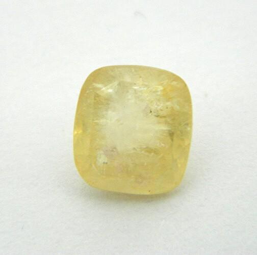 5.66 Carat Natural Yellow Sapphire (Pukhraj) Gemstone