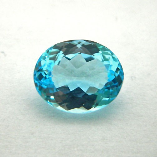 7.84 Carat  Natural Blue Topaz Gemstone