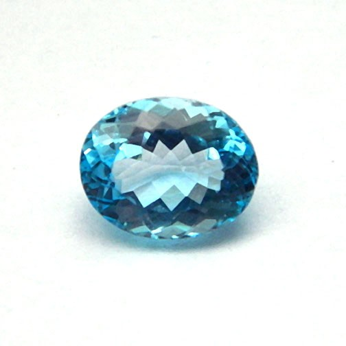 7.72 Carat  Natural Blue Topaz Gemstone