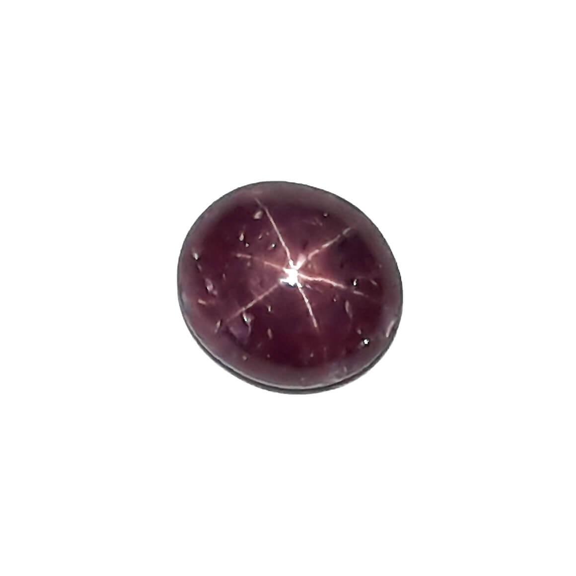 11.23 Carat/ 12.47 Ratti Natural African Star Ruby (Manik) Gemstone