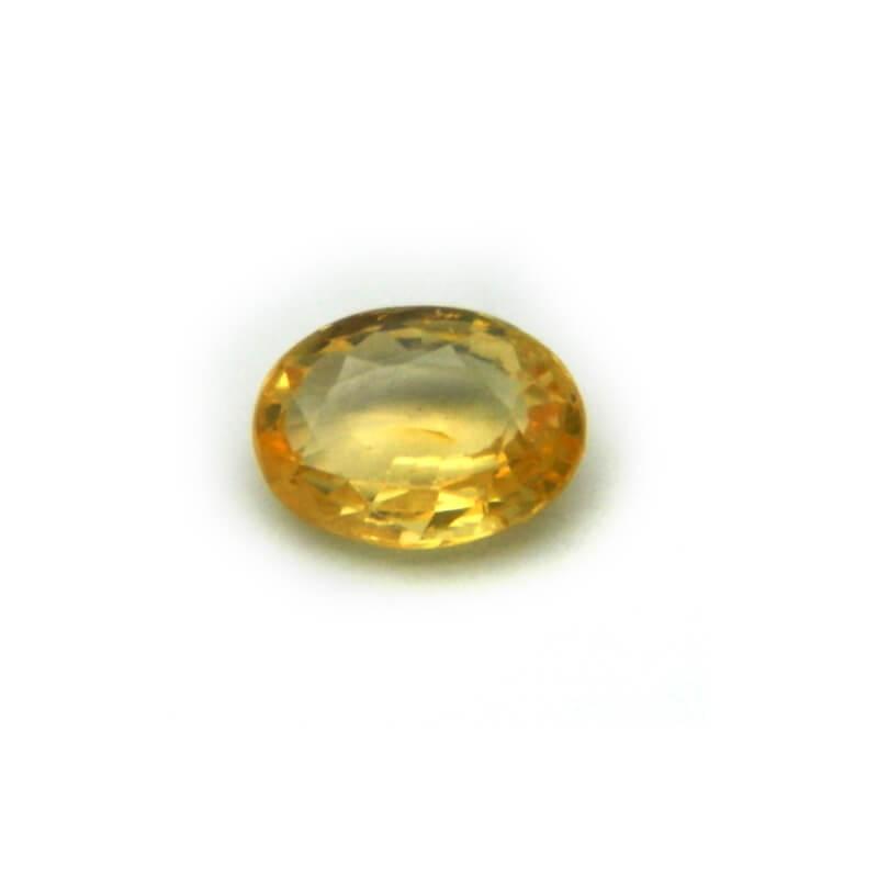 2.04 Carat/ 2.26 Ratti Natural Ceylon Yellow Sapphire Gemstone