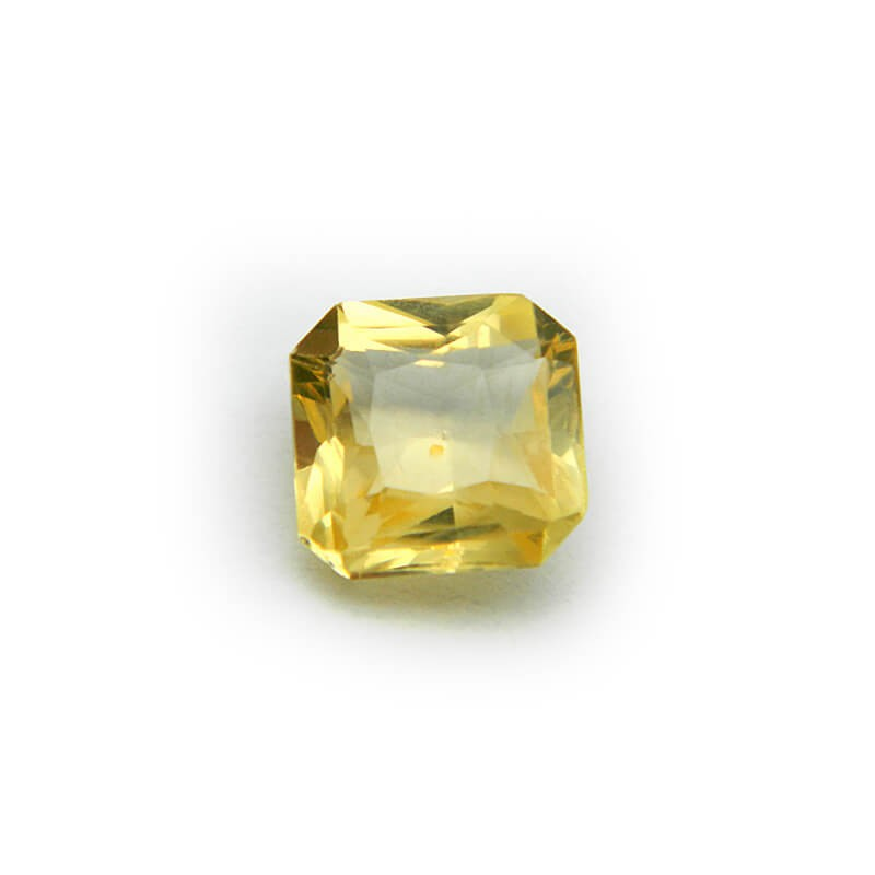 2.36 Carat/ 2.61 Ratti Natural Ceylon Yellow Sapphire Gemstone