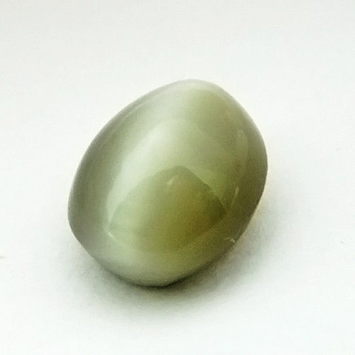 8.59 Carat Natural Quartz Cat's Eye Gemstone
