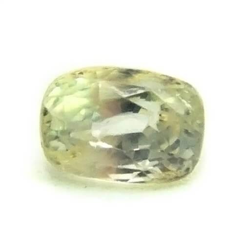 3.28 Carat/ 3.64 Ratti Natural Ceylon Yellow Sapphire (Pukhraj) Gemstone