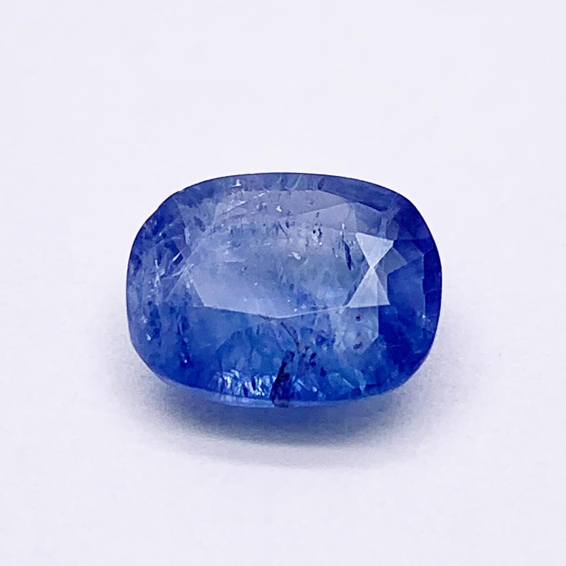 3.56 Carat/ 3.95 Ratti Natural Ceylon Blue Sapphire (Neelam) Gemstone