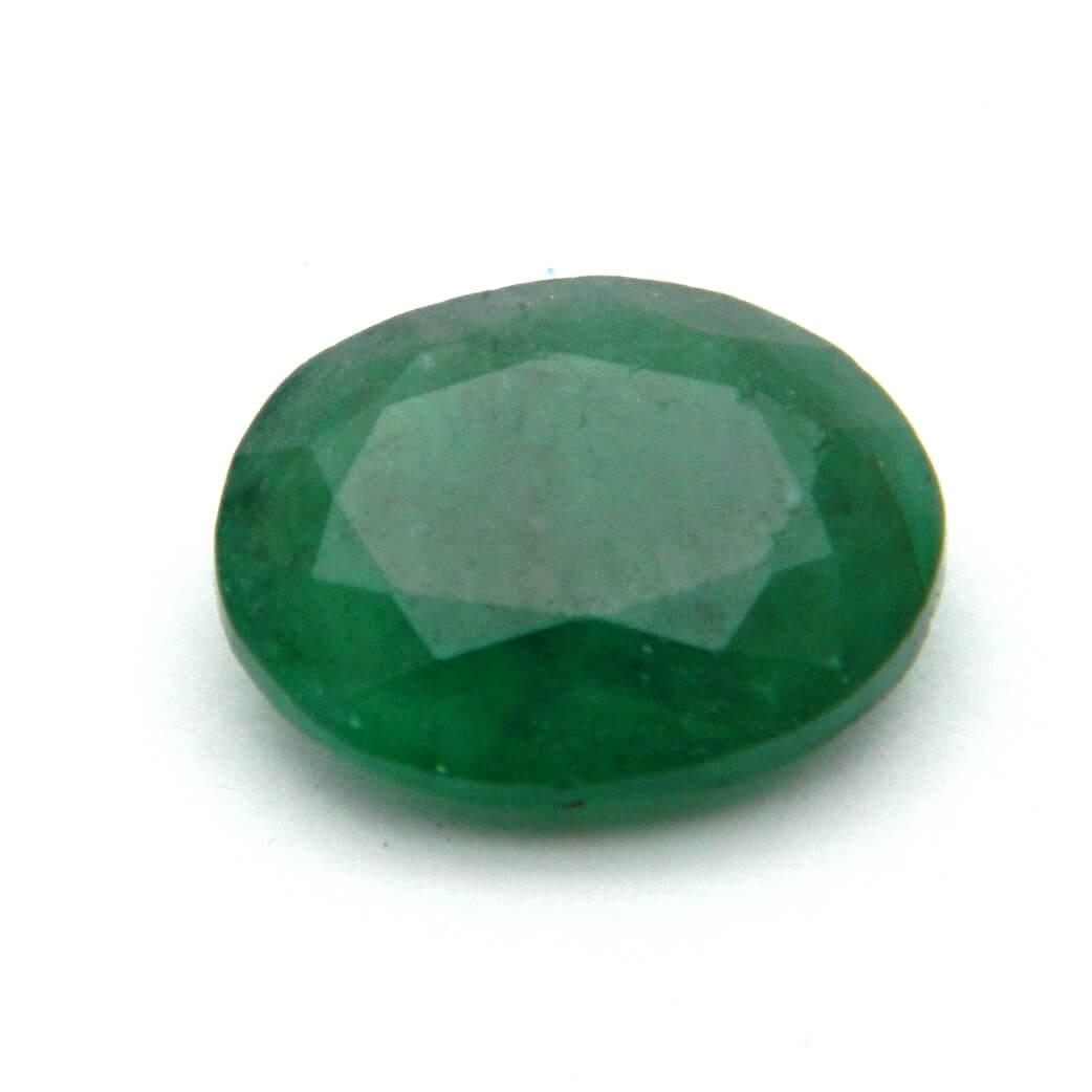3.70 Carat/ 4.10 Ratti Natural Zambian Emerald (Panna) Gemstone