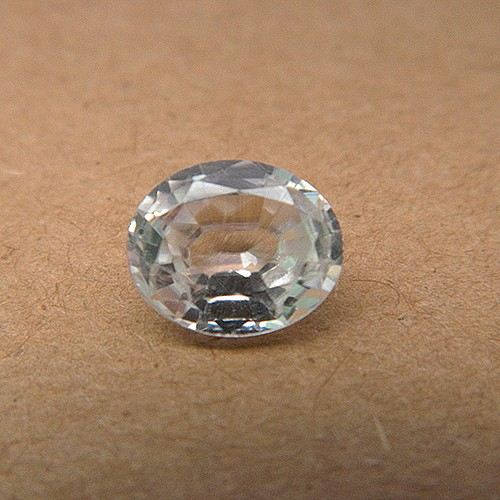 3.75 Carat Natural White Zircon Gemstone