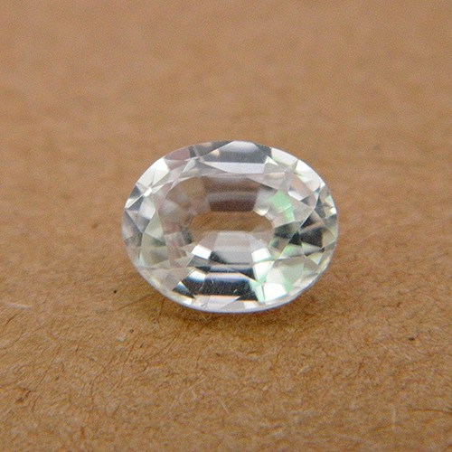 3.92 Carat Natural White Zircon Gemstone