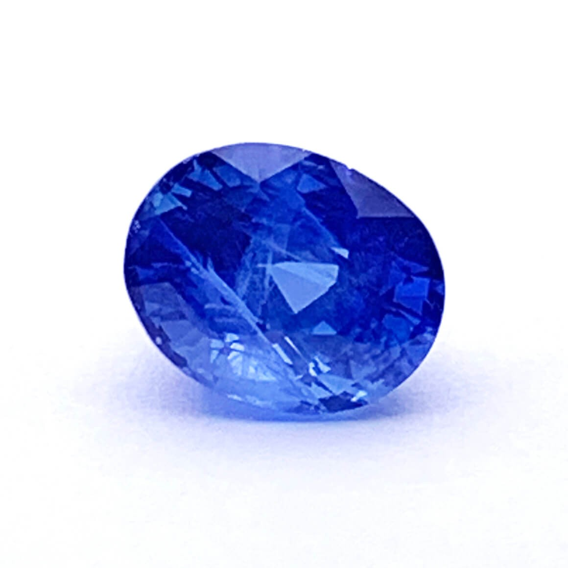 4.01 Carat/ 4.45 Ratti Natural Ceylon Blue Sapphire (Neelam) Gemstone