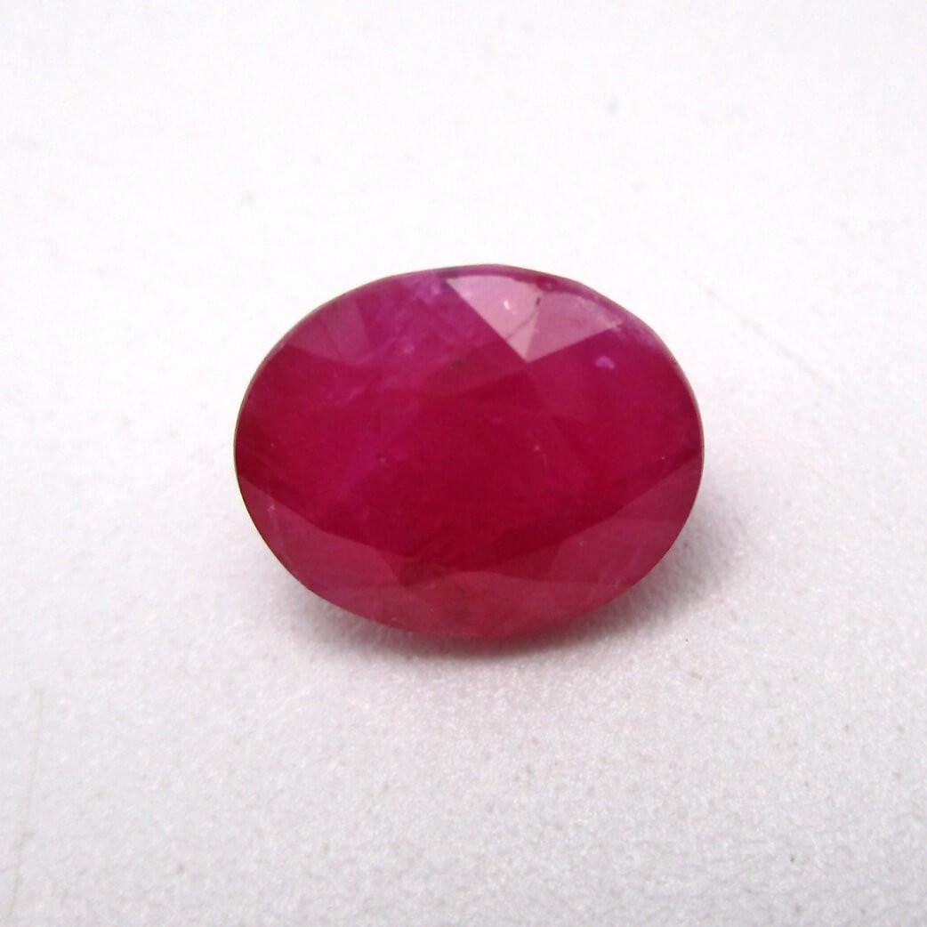 4.20 Carat/ 4.66 Ratti Natural African Ruby (Manik) Gemstone