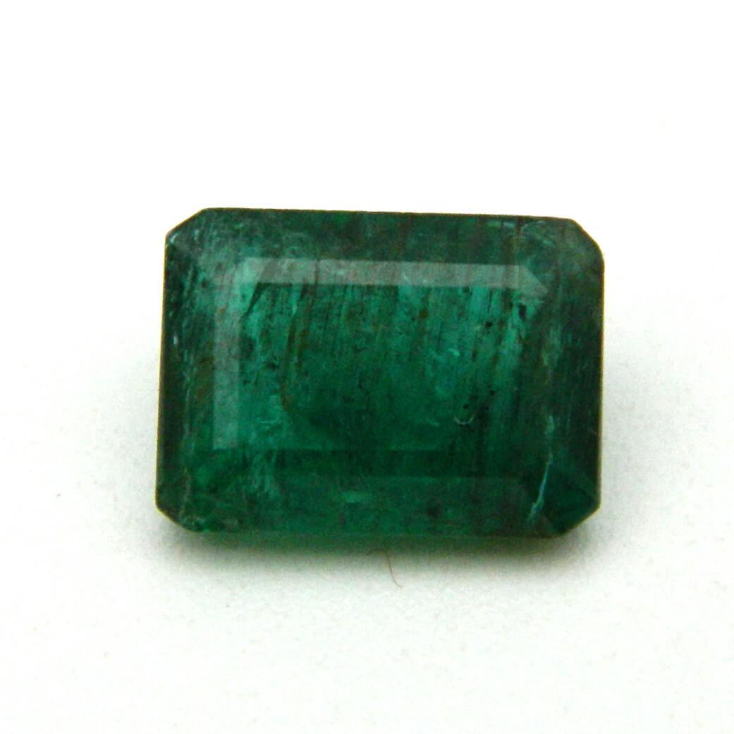 4.22 Carat/ 4.68 Ratti Natural Zambian Emerald (Panna) Gemstone
