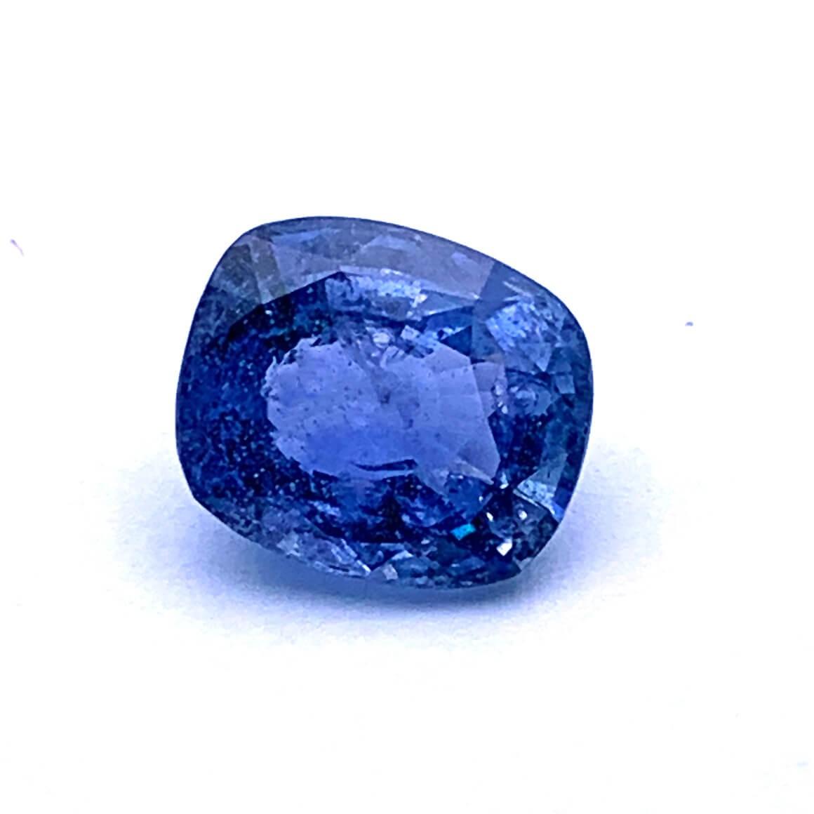 4.60 Carat/ 5.10 Ratti Natural Ceylon Blue Sapphire (Neelam) Gemstone