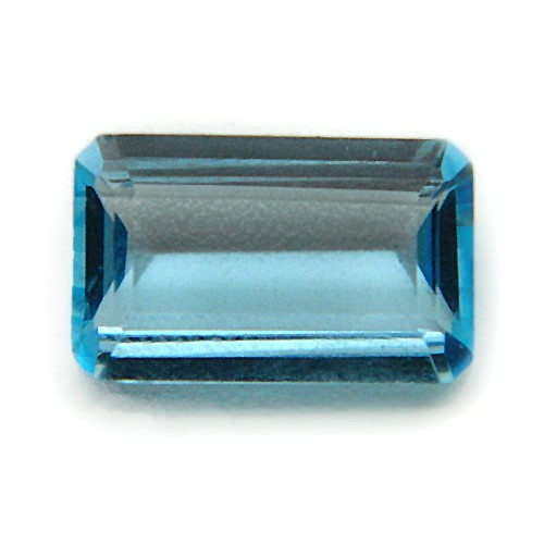 4.64 Carat/ 5.15 Ratti Natural Blue Topaz Gemstone