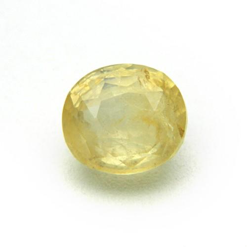 4.79 Carat/ 5.31 Ratti Natural Ceylon Yellow Sapphire (Pukhraj) Gemstone