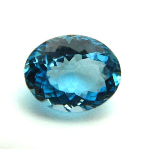 4.80 Carat/ 5.33 Ratti Natural Blue Topaz Gemstone