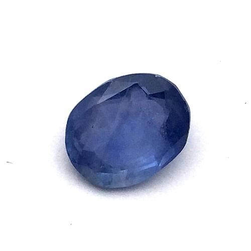 4.87 Carat/ 5.40 Ratti Natural Ceylon Blue Sapphire (Neelam) Gemstone
