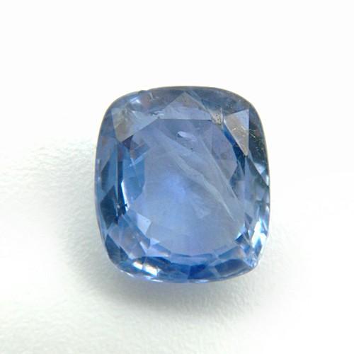 4.94 Carat/ 5.48 Ratti Natural Ceylon Blue Sapphire (Neelam) Gemstone