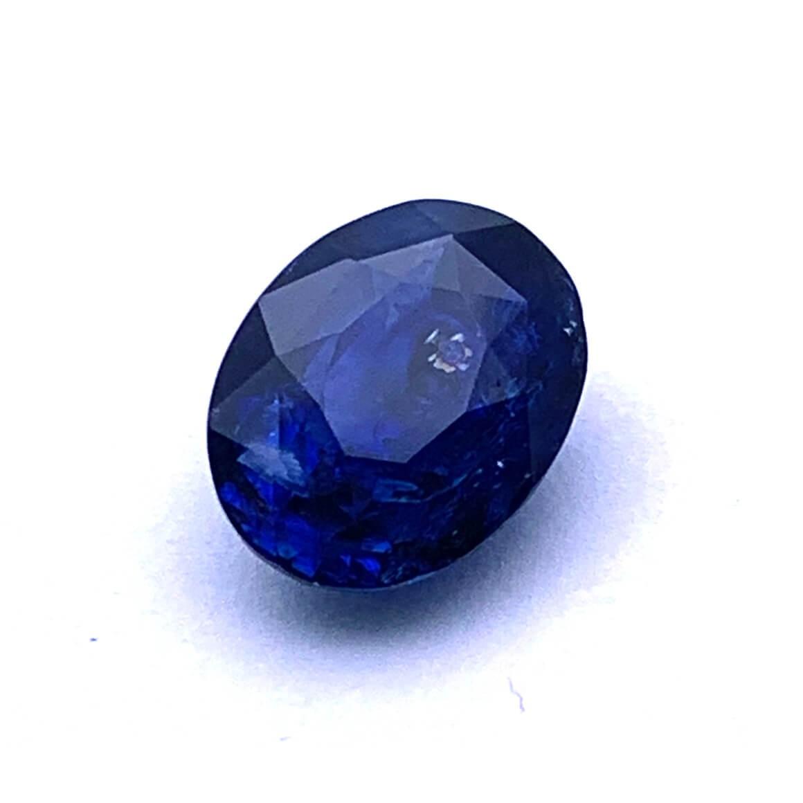 4.99 Carat/ 5.53 Ratti Natural Ceylon Blue Sapphire (Neelam) Gemstone
