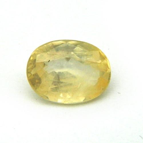 4.99 Carat/ 5.53 Ratti Natural Ceylon Yellow Sapphire (Pukhraj) Gemstone