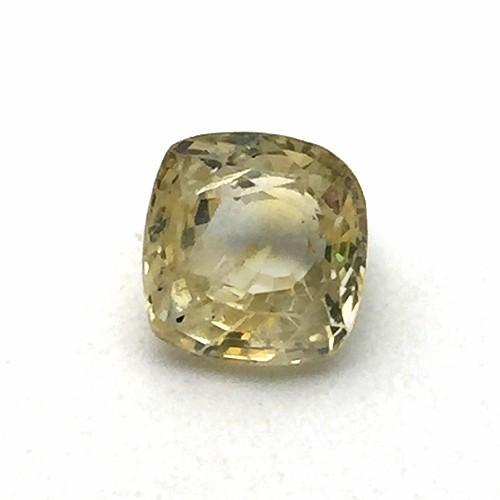 4.21 Carat Natural Ceylon Yellow Sapphire (Pukhraj) Gemstone