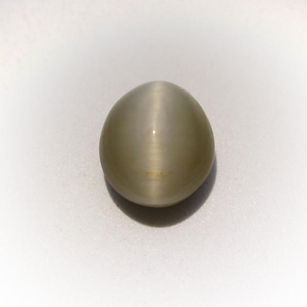 4.36 Carat 4.83 Ratti Natural Quartz Cat's Eye Gemstone