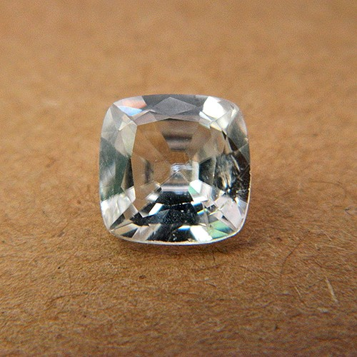 4.37 Carat Natural White Zircon Gemstone