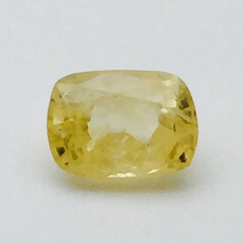 4.64 Carat Natural Ceylon Yellow Sapphire (Pukhraj) Gemstone
