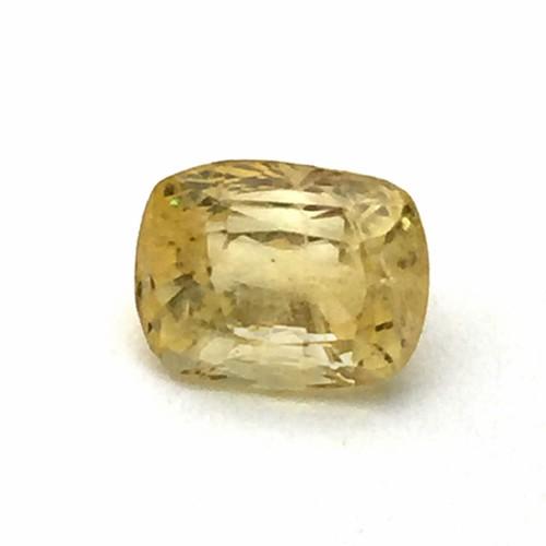 4.86 Carat Natural Ceylon Yellow Sapphire (Pukhraj) Gemstone