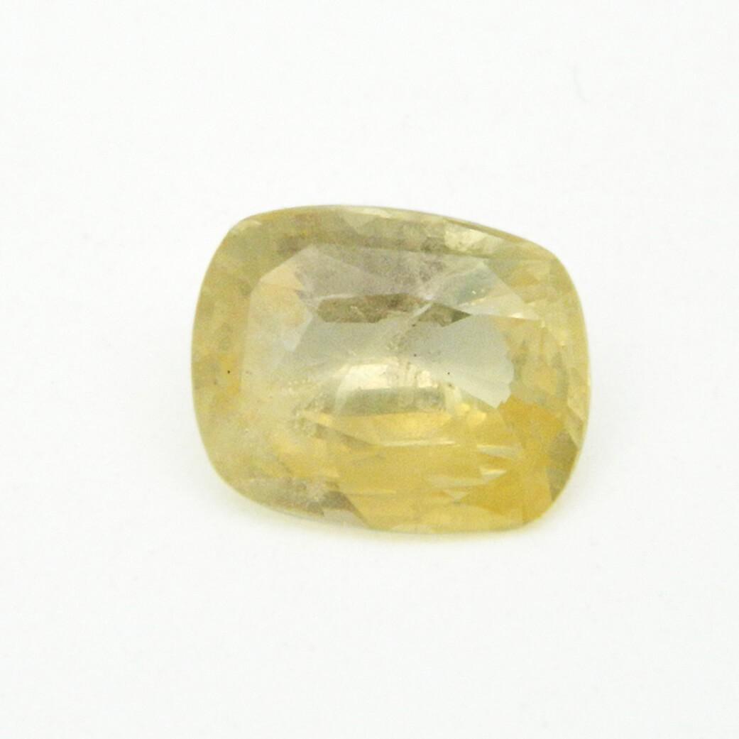 5.01 Carat/ 5.56 Ratti Natural Ceylon Yellow Sapphire (Pukhraj) Gemston
