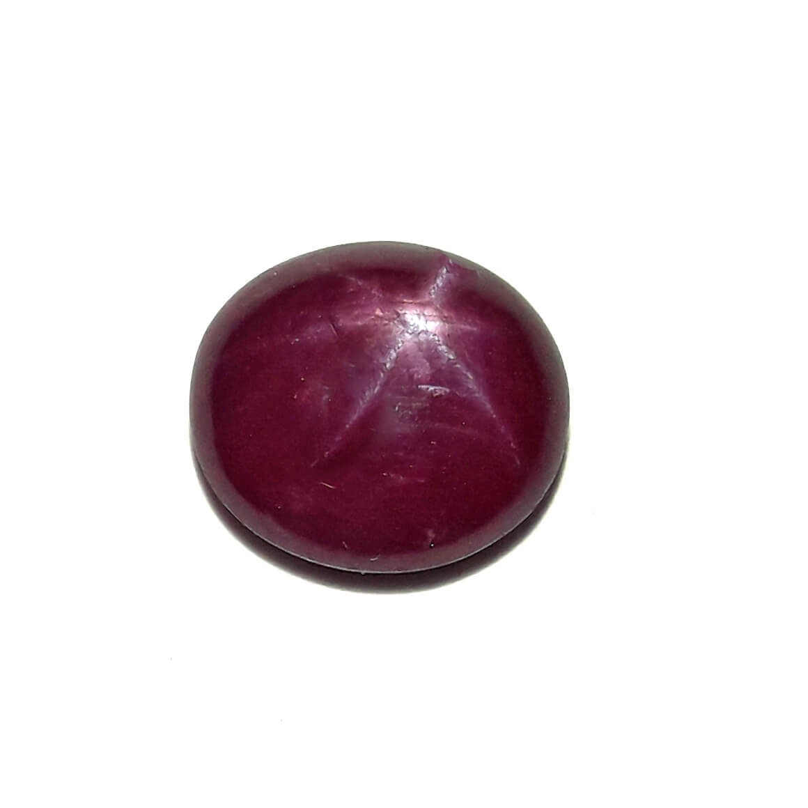 8.07 Carat/ 8.96 Ratti Natural African Star Ruby (Manik) Gemstone