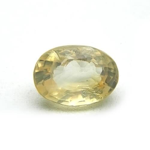 5.29 Carat/ 5.78 Ratti Natural Ceylon Yellow Sapphire (Pukhraj) Gemstone