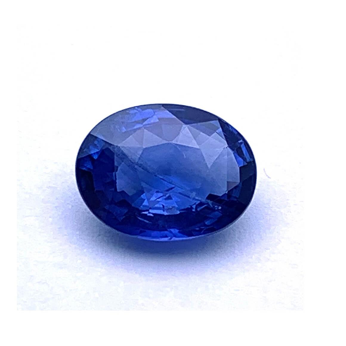 5.37 Carat/ 5.96 Ratti Natural Ceylon Blue Sapphire (Neelam) Gemstone