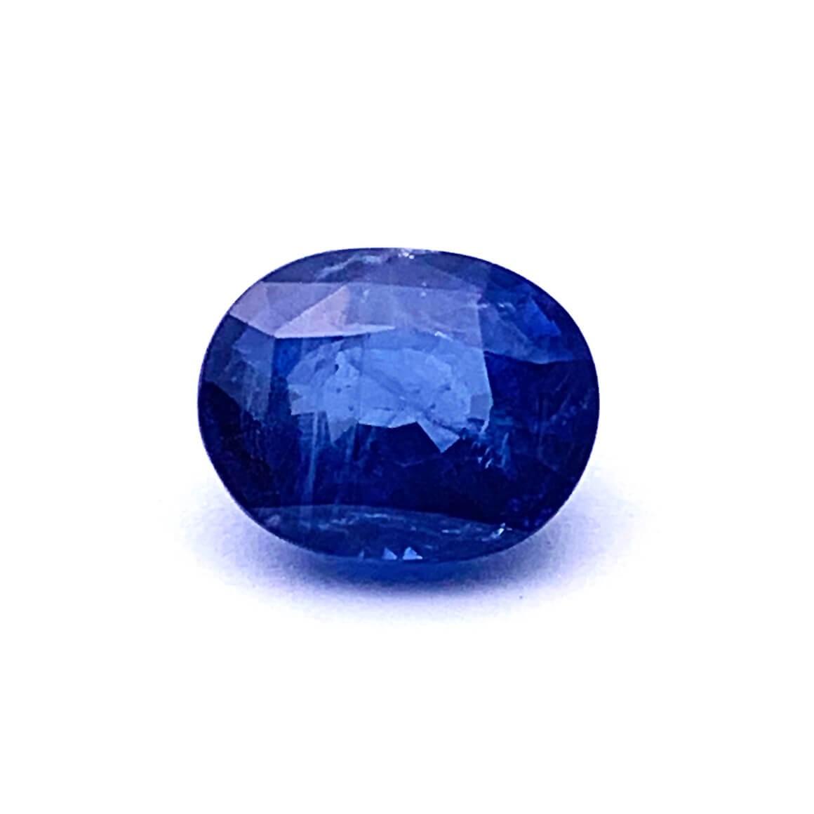 5.43 Carat/ 6.02 Ratti Natural Ceylon Blue Sapphire (Neelam) Gemstone