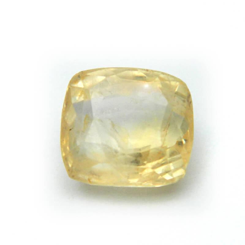5.71 Carat/ 6.33 Ratti Natural Ceylon Yellow Sapphire Gemstone