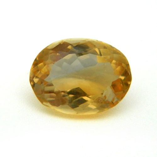 5.72 Carat/ 6.35 Ratti Natural Citrine (Sunela) Gemstone