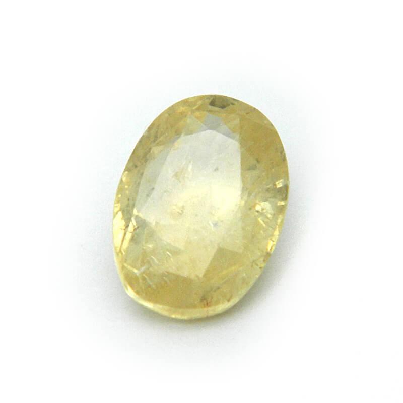 5.85 Carat/ 6.50 Ratti Natural Ceylon Yellow Sapphire Gemstone