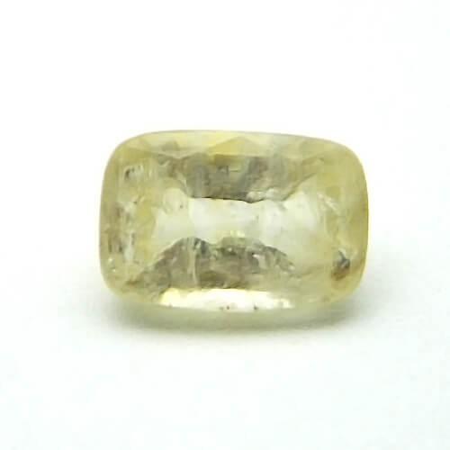 5.87 Carat/ 5.78 Ratti Natural Ceylon Yellow Sapphire (Pukhraj) Gemstone