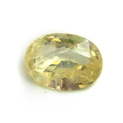 5.88 Carat/ 6.52 Ratti Natural Ceylon Yellow Sapphire (Pukhraj) Gemstone