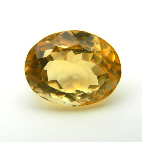 5.93 Carat/ 6.58 Ratti Natural Citrine (Sunela) Gemstone