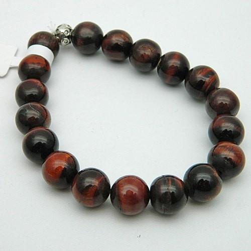 Red Tiger Eye Gemstone Bracelet